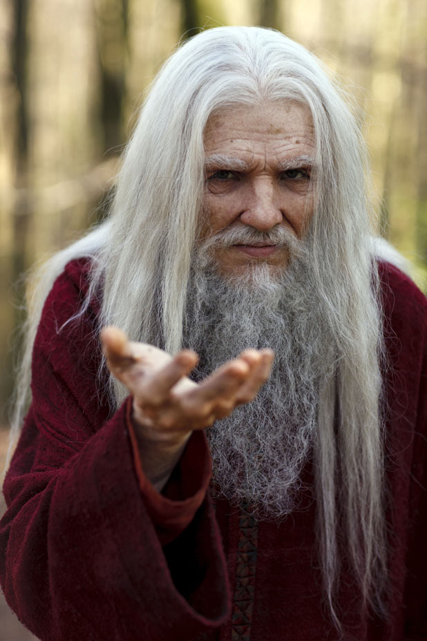 Old Merlin (Colin Morgan)