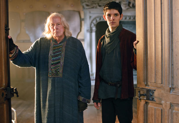 Gaius (Richard Wilson), Merlin (Colin Morgan)