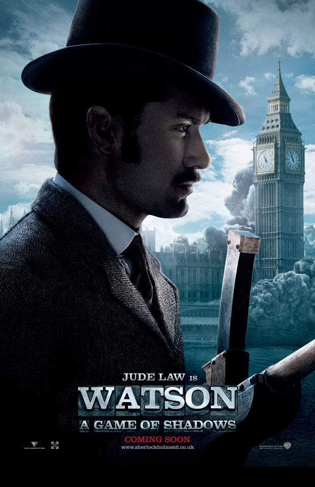 Sherlock Holmes 2: A Game Of Shadows: Posters
