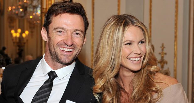 Hugh Jackman and Elle McPherson