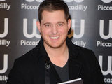 Michael Buble signs copies of illustrated autobiography &#39;Onstage, Offstage&#39; at Waterstone&#39;s, London