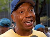 Russell Simmons at the Occupy Wall Street protests