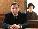 The actor admits that he is thrilled with Downton's US success.