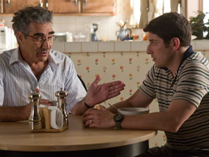 Jim and his dad (Eugene Levy) share another embarrassing conversation.