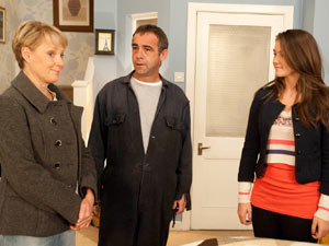 Kevin and Sally are stunned as Sophie announces she and Sian are engaged