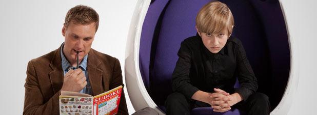 Darren Boyd and Jude Wright in 'Spy'