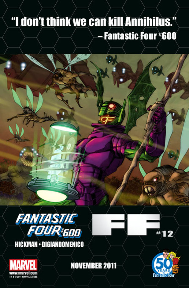 Fantastic Four and FF teaser Annihilus