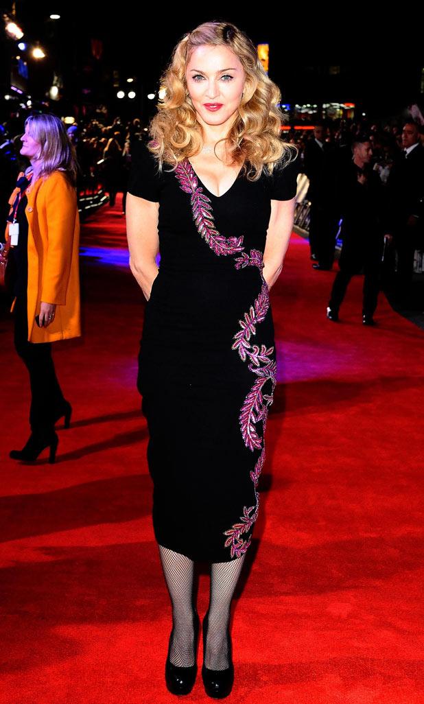 W.E. London Premiere - Madonna