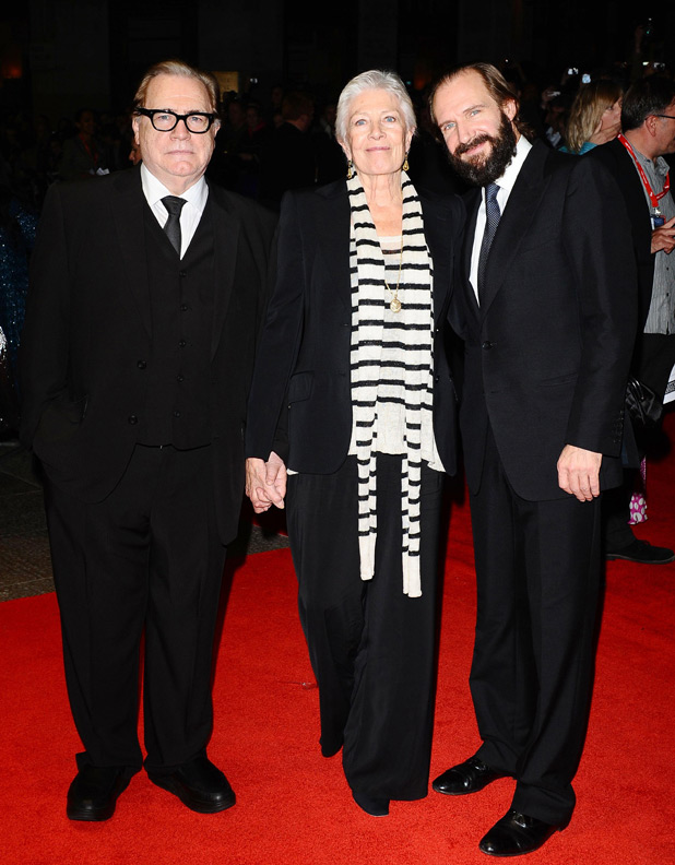 Ralph Fiennes, Vanessa Redgrave and Brian Cox