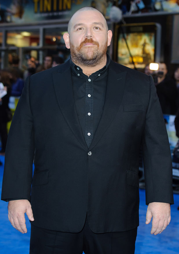 The Adventures of Tintin: Secret of the Unicorn Premiere - Nick Frost