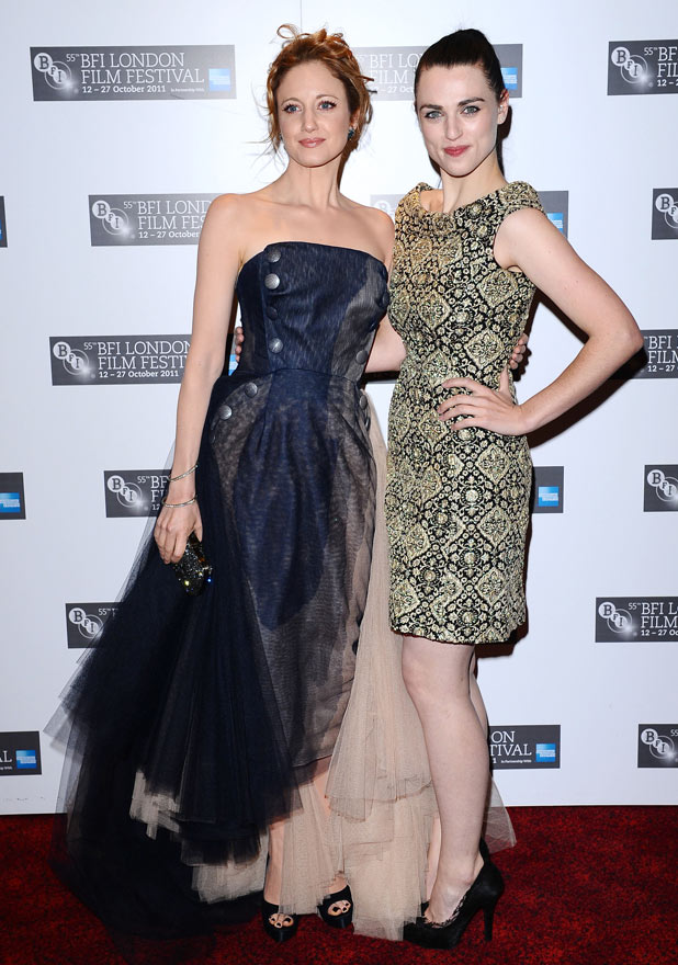 W.E. London Premiere - Andrea Rishborough and Katie McGrath