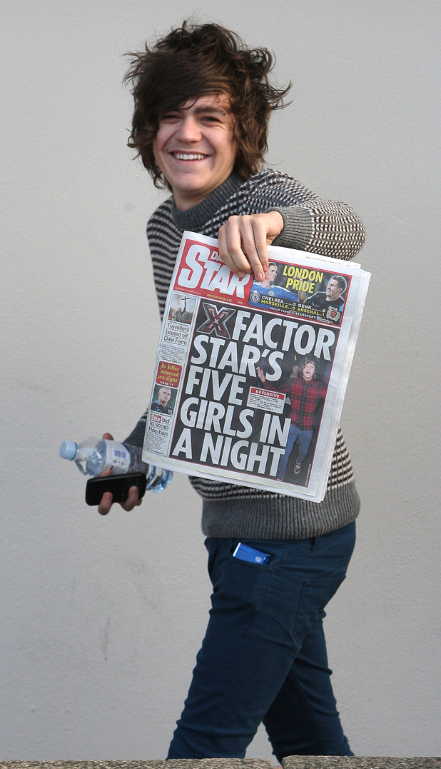 X Factor Frankie Cocozza scandal gallery