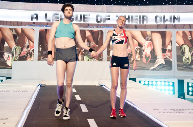 Jack Whitehall speed walks on A League of their Own