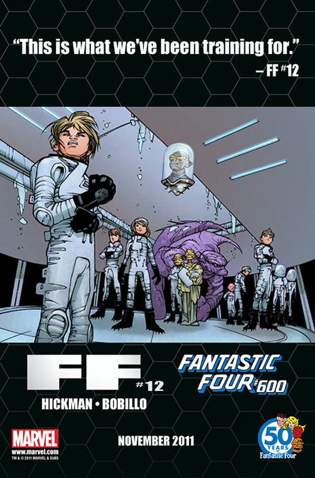 Fantastic Four and FF Future Foundation teaser