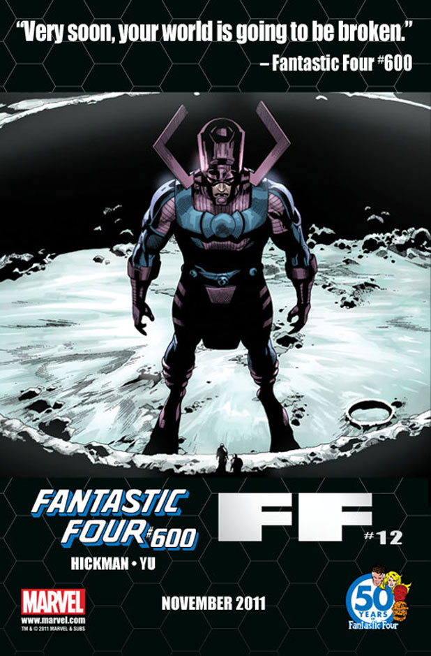 Fantastic Four and FF Galactus teaser