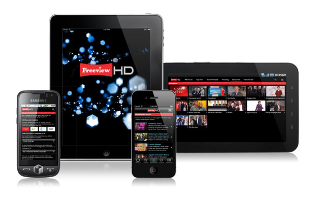 iPhone and Android Freeview App