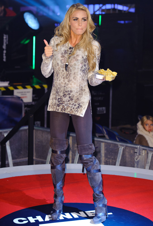 Paranormal Activity 3 Premiere at the Big Brother House: Katie Price
