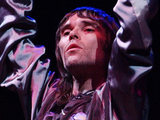 Ian Brown performing on The Other Stage at Glastonbury Festival, 2005