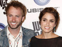 Nikki Reed and Paul McDonald celebrate their marriage.
