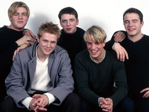 Westlife - Brian McFadden, Nicky Byrne, Mark Feehily, Kian Egan and Shane Filan, 1994