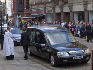 The Funeral of Betty Driver