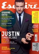 Esquire December 2011 Cover: Justin Timberlake