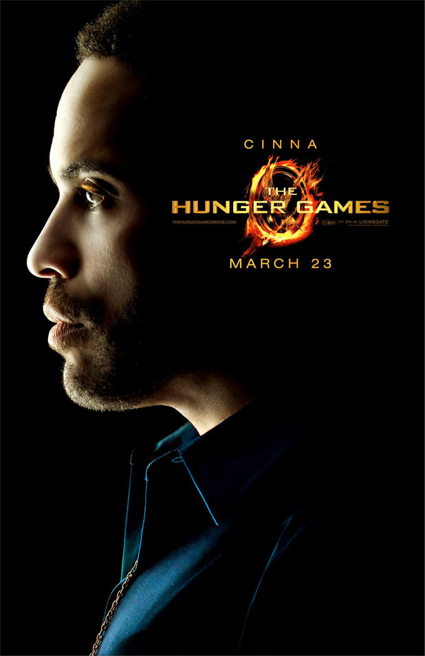 Hunger Games Character Posters - Lenny Kravitz as Cinna