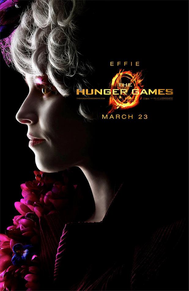 Hunger Games Character Posters - Elizabeth Banks as Effie