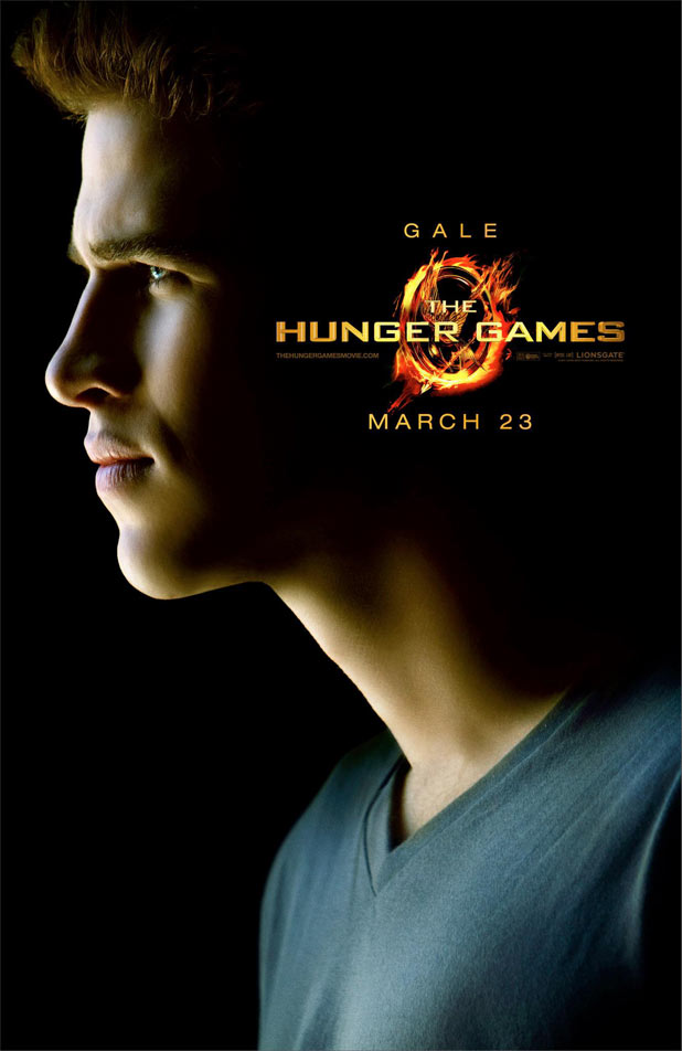 Hunger Games Character Posters - Liam Hemsworth as Gale