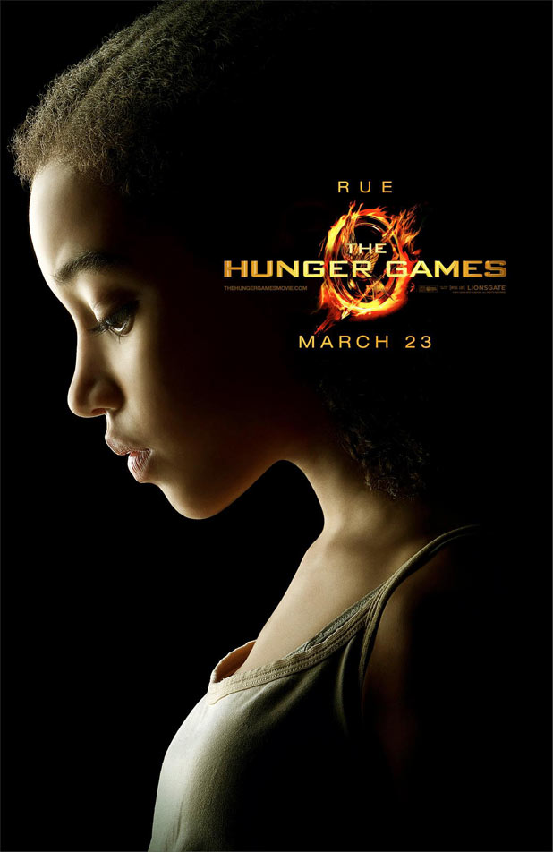 Hunger Games Character Posters - Amandla Stenberg as Rue