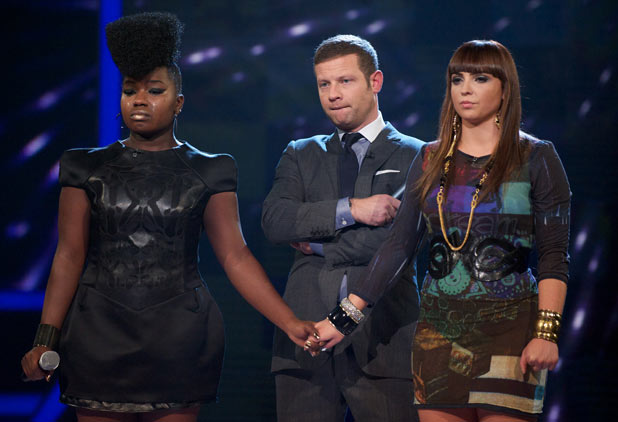 The X Factor Results Show: Misha and Sophie hear the judges decision