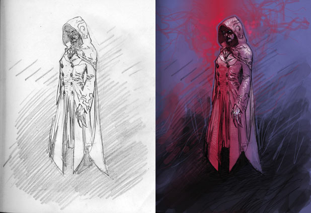 DC New 52's Hooded Woman