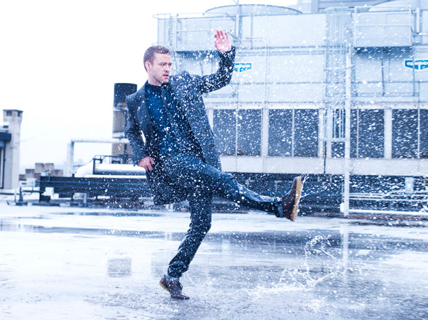 Esquire December 2011: Justin Timberlake