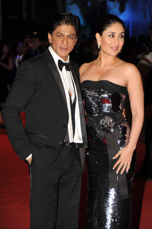 Stars Shah Rukh Khan and Kareena Kapoor