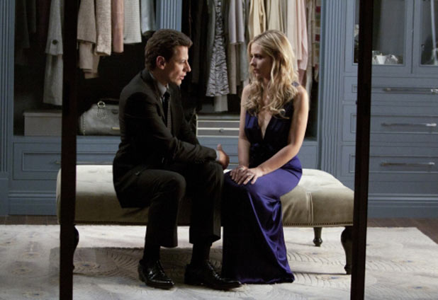 Ioan Gruffudd as Andrew Martin and Sarah Michelle Gellar as Siobhan Martin/Bridget Kelly