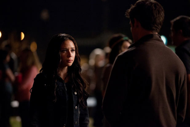 Malese Jow as Anna and Steven R McQueen as Jeremy