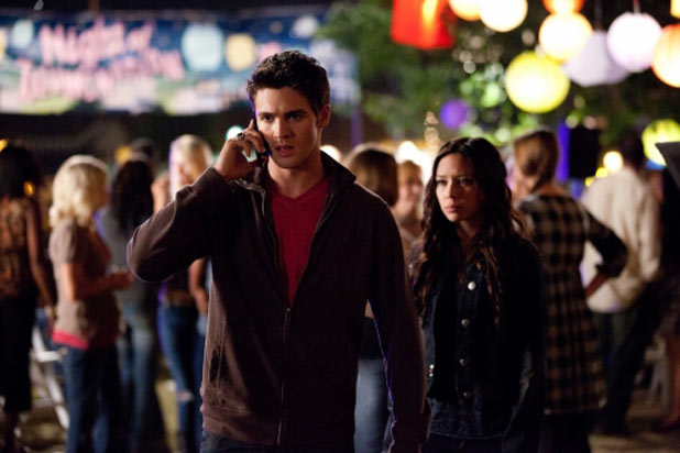 Steven R McQueen as Jeremy and Malese Jow as Anna