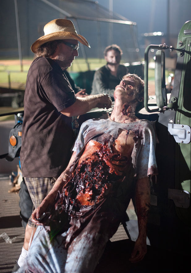 Zombie Behind-the-Scenes