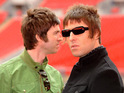 The Oasis star currently isn't speaking to his brother.