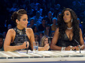 Kelly Rowland says that Tulisa could have been more professional on the show.