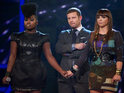 Look back in pictures at the X Factor Halloween results show drama.
