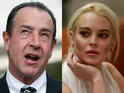 Lindsay Lohan's father Michael is accused of battering his girlfriend.