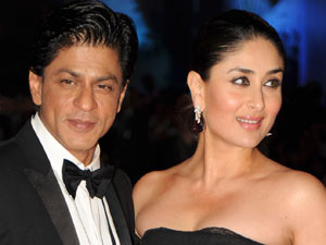 RA.One premiere: Stars Shah Rukh Khan and Kareena Kapoor