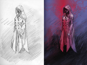 DC New 52&#39;s Hooded Woman