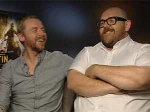 Simon Pegg and Nick Frost DS interview