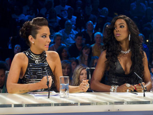 Tulisa and Kelly Rowland