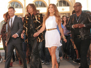 American Idol Season 11: Ryan Seacrest, Steven Tyler, Jennifer Lopez and Randy Jackson