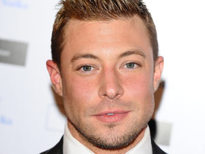 Duncan James arrives at the Grey Goose Winter Ball, to benefit the Elton John Aids Foundation
