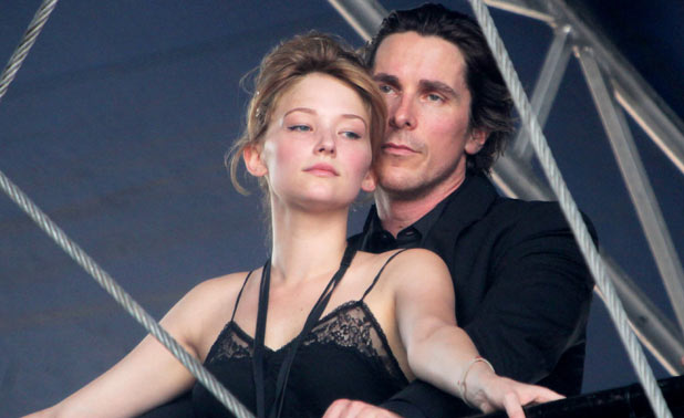 Haley Bennett and Christian Bale