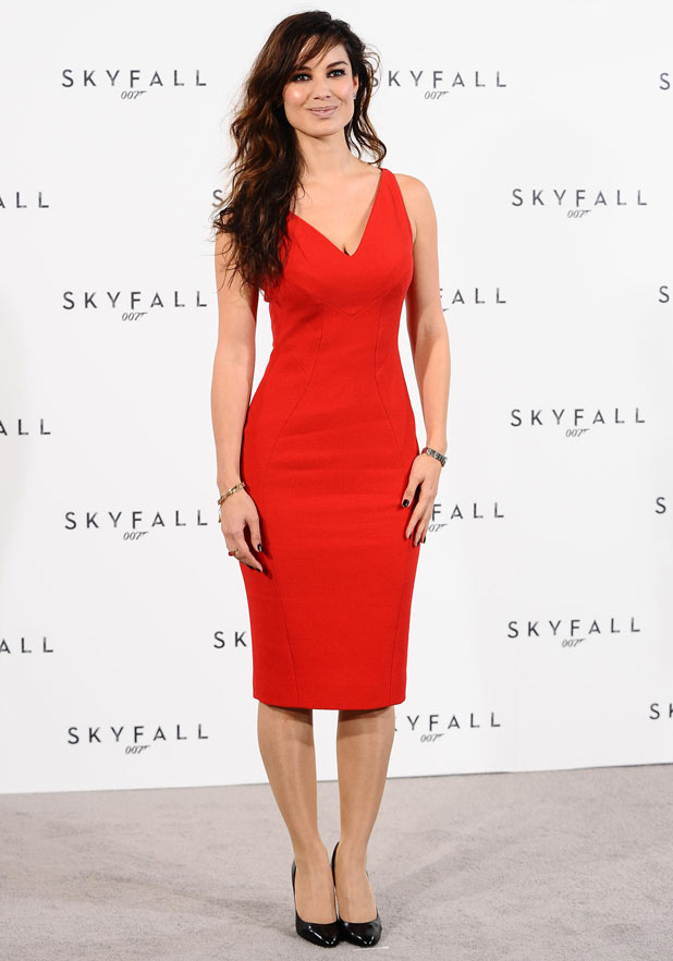 Berenice Marlohe at the James Bond: Skyfall photocall